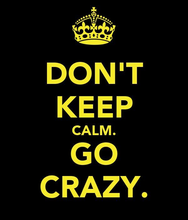 Keep Dont Calm Monster