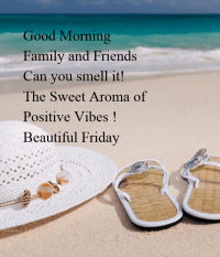 Good Morning Family and Friends Can you smell it! The ...