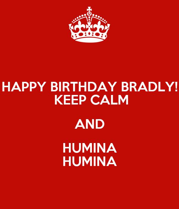 happy birthday bradly keep
