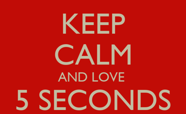 Keep Calm And Love 5 Seconds Of Summer Poster Lovely