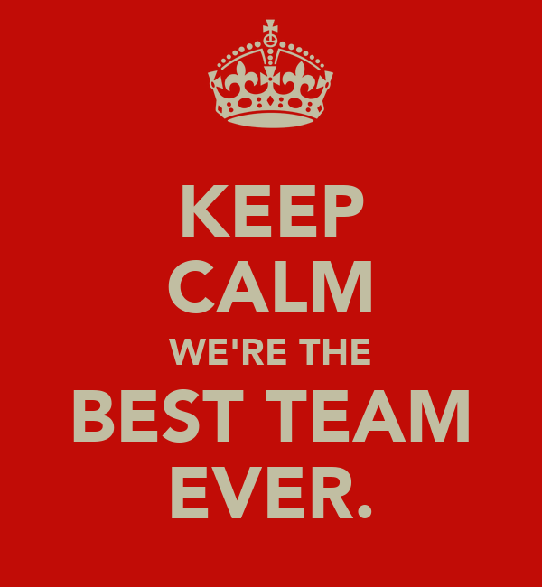 Best We Ever Team Are