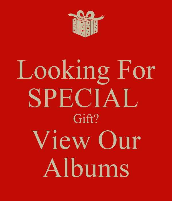 Looking For Special Gift? View Our Albums Poster  Sidah