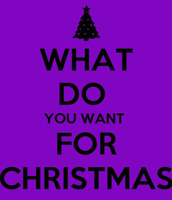 WHAT DO YOU WANT FOR CHRISTMAS Poster makala Keep Calm