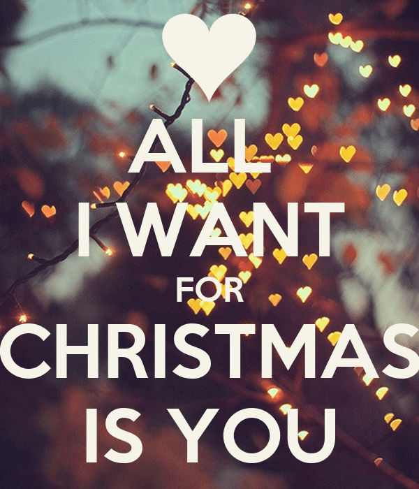 ALL I WANT FOR CHRISTMAS IS YOU Poster YOU Keep Calmo