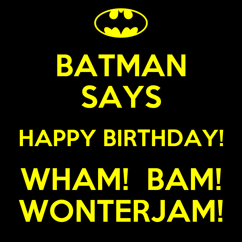Batman Birthday Quotes For Cards QuotesGram