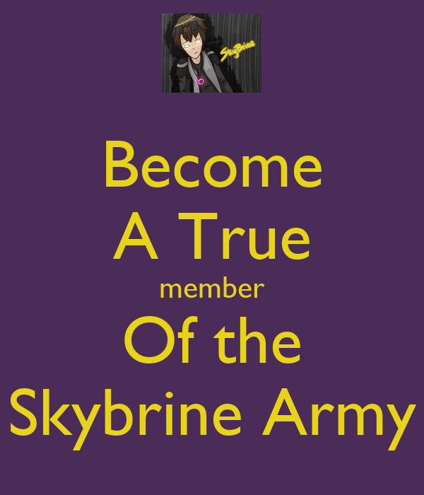 Keep Calm And Join Sky Army