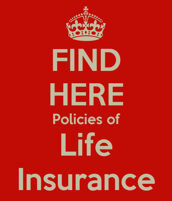Find Here Policies Of Life Insurance Poster  Varadarajan