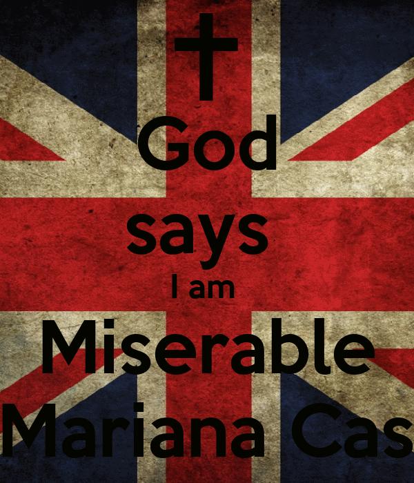 Keep Calm And Follow Mariana