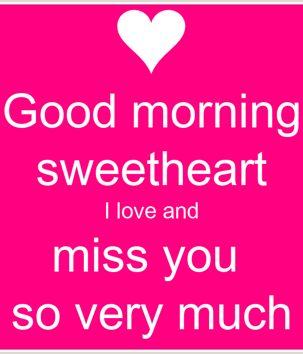 Comments Miss My I Sweetheart You