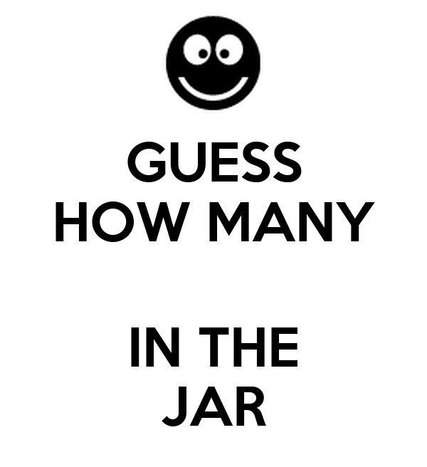 Guess How Many Are In The Jar Pictures to Pin on Pinterest