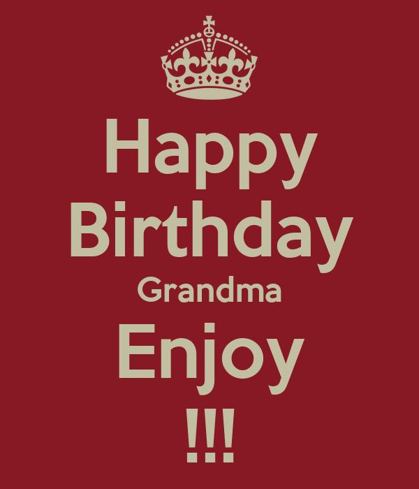 Happy Birthday Nana Quotes QuotesGram
