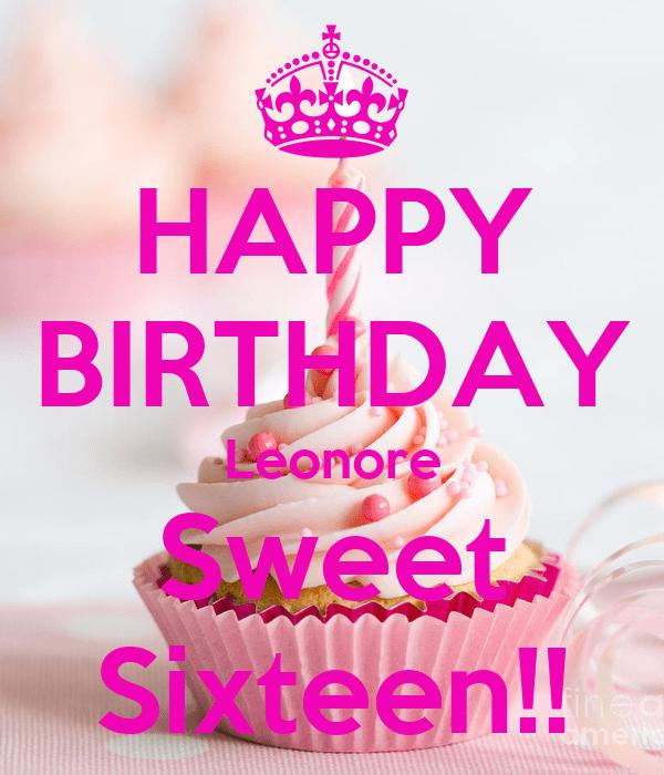 16 Birthday Card Sayings
