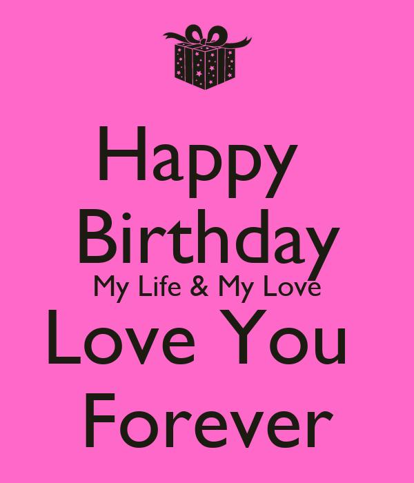 happy birthday love of