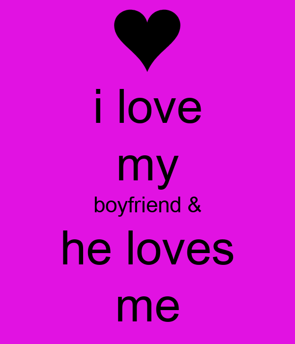 Keep Calm And Love Me Your Boyfriend