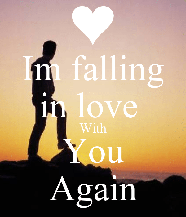 Im falling in love With You Again Poster | jaivee | Keep ...
