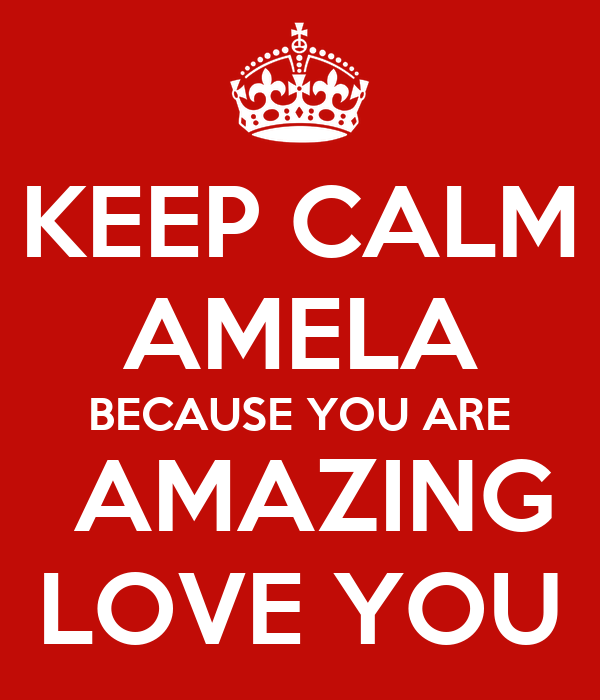 You Are Amazing Love