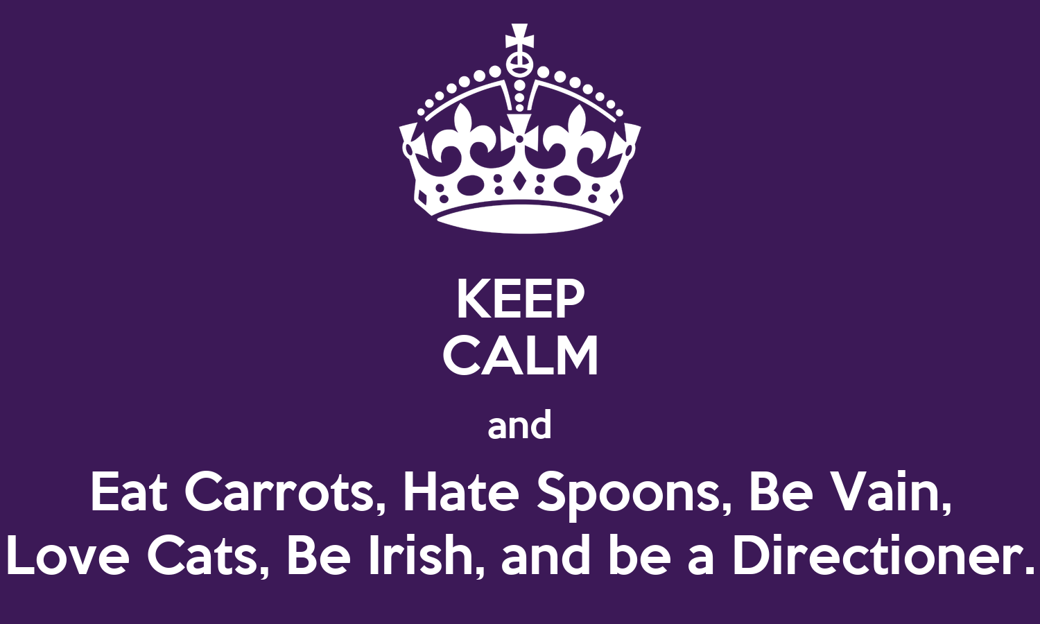 Bear Iphone Wallpaper Keep Calm And Eat Carrots Hate Spoons Be Vain Love Cats