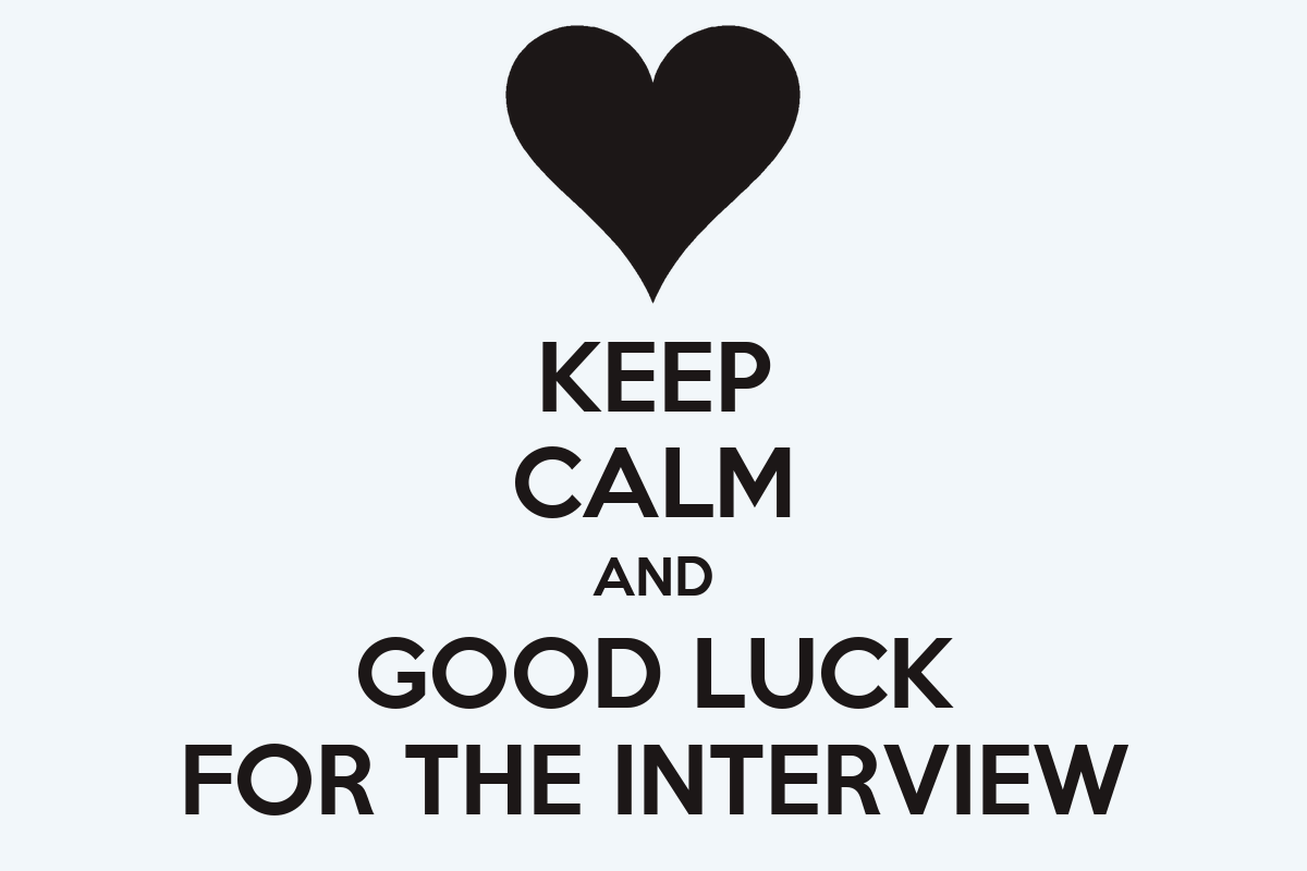 Good Luck Interview Quotes. QuotesGram