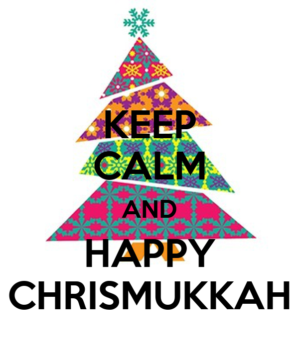KEEP CALM AND HAPPY CHRISMUKKAH Poster Pati P Keep