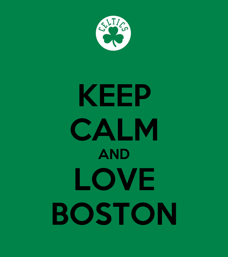 Keep Calm & Love Boston