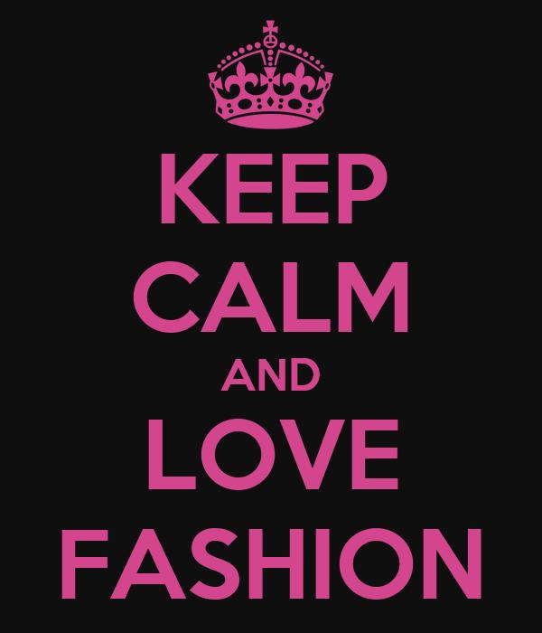 Keep Calm And Love Ciara