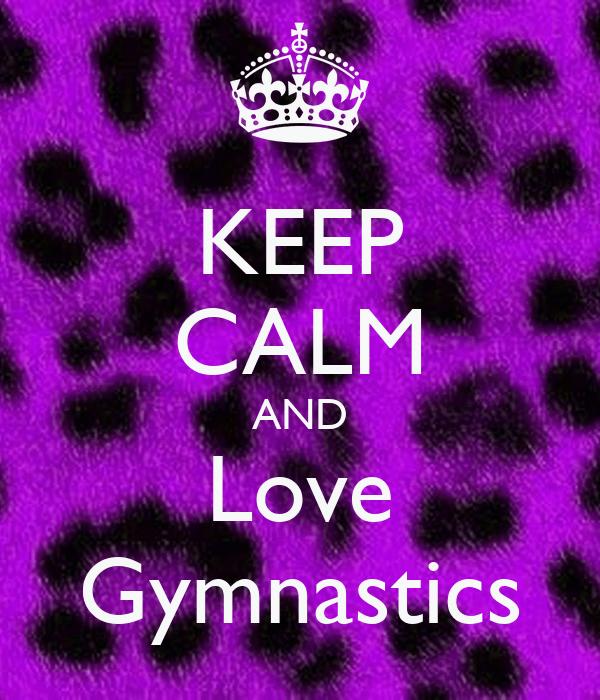 Keep Calm And Do Gymnastics Wallpaper