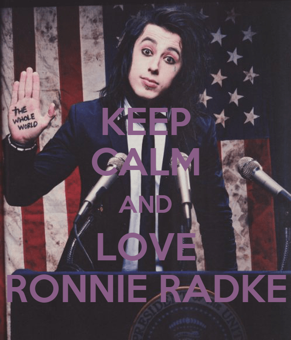 Falling In Reverse Wallpaper Iphone 4 Keep Calm And Love Ronnie Radke Keep Calm And Carry On