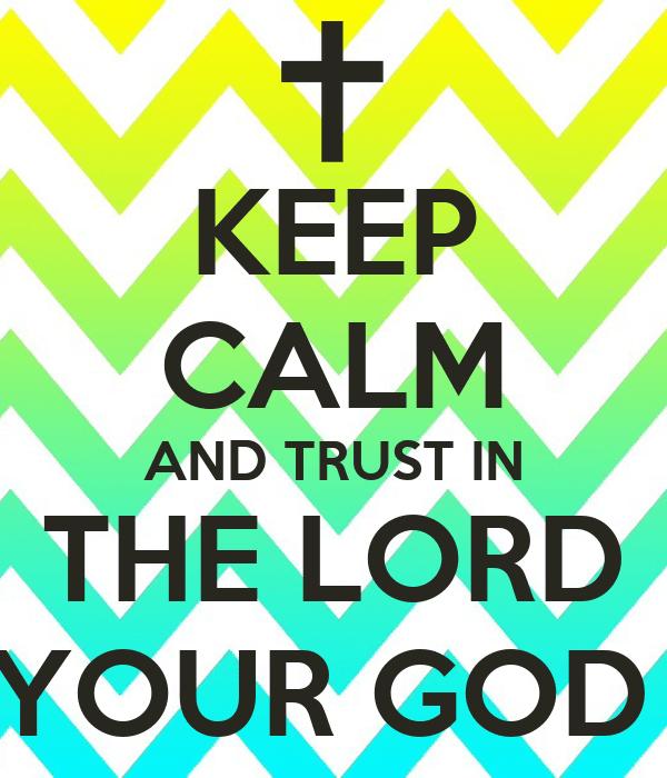 Keep Calm Trust Friends