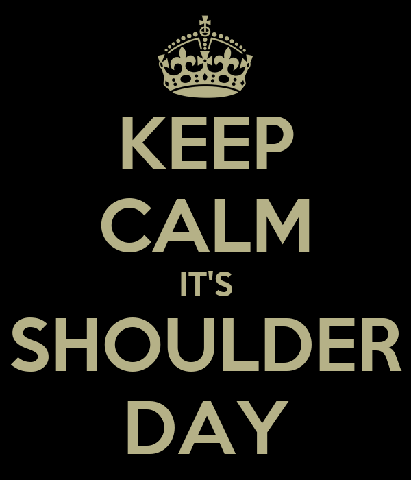 Image result for shoulder day