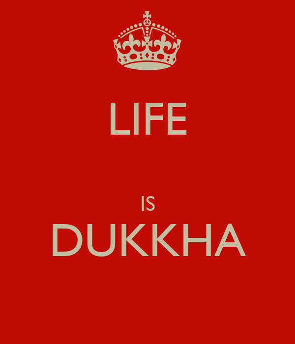 Image result for life is dukkha
