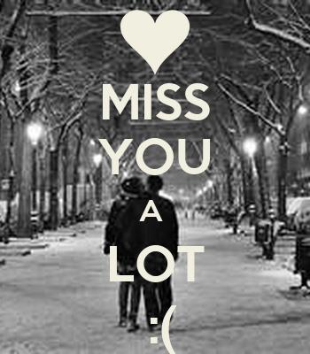 MISS YOU A LOT :( Poster | dana | Keep Calm-o-Matic