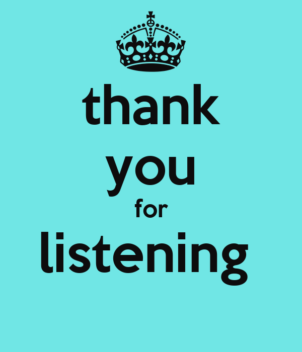 Thank You For Listening Quotes. QuotesGram