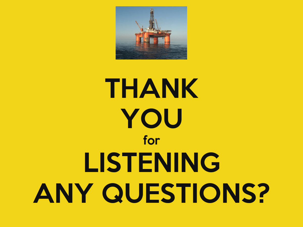 THANK YOU for LISTENING ANY QUESTIONS? - KEEP CALM AND CARRY ON Image Generator