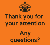 Thank You For Your Attention Presentation Questions - Year of Clean