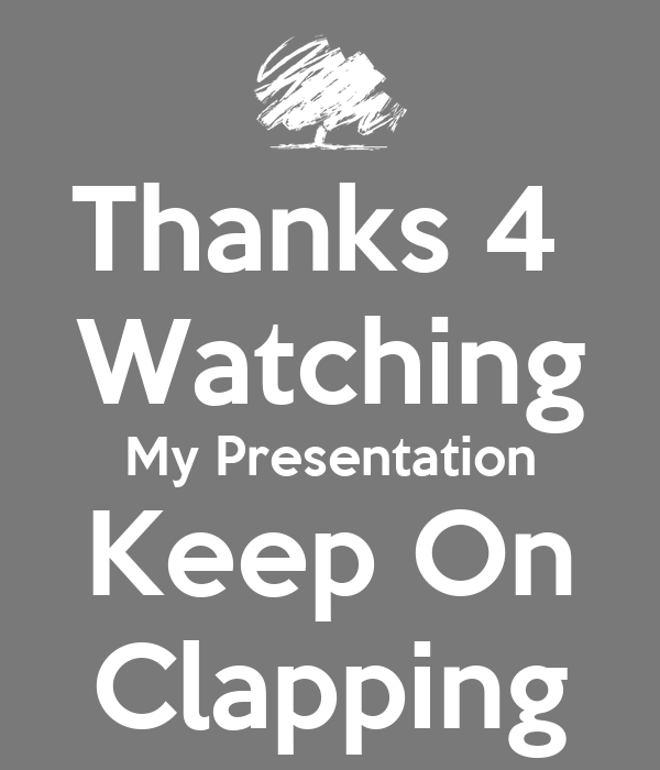 Keep Calm And Keep Clapping