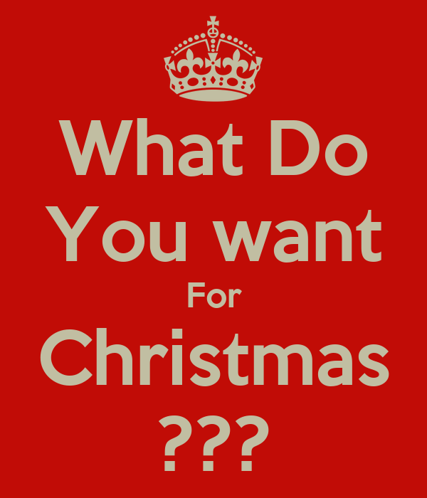 What Do You want For Christmas Poster Amy Keep