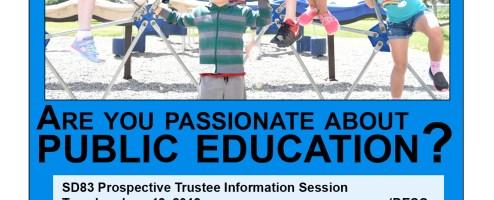 Prospective Trustee Information Session