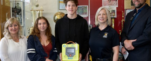 AEDs donated!