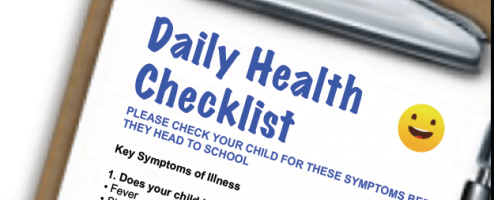 New daily health check list adopted