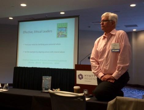 Speaker Bob Pautke, Leadership Workshop (EDSymposium16)