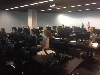 Attendees at MS Word and Excel Workshop (3/25/17)
