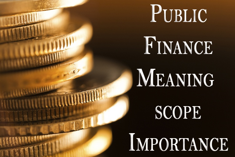 Public Finance Meaning Scope and Importance