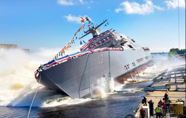 سفينة القتال الساحلي USS Wichita