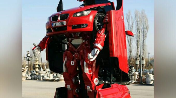 سيارة تتحول إلى روبوت