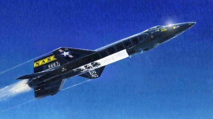 North American X-15| أسرع طائرة في العالم