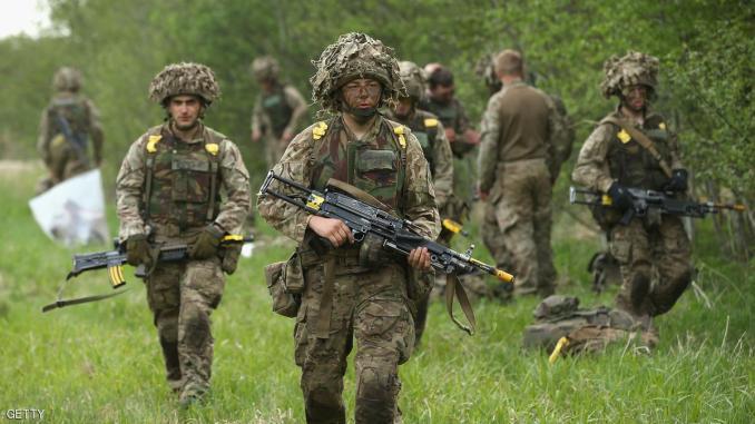 جنود حلف شمال الأطلسي