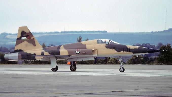 مقاتلة F 5 الأردنية
