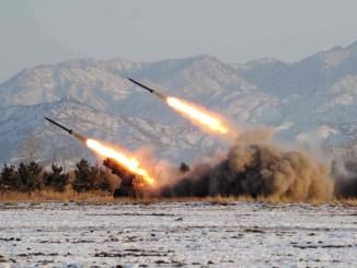 تجارب صاروخية