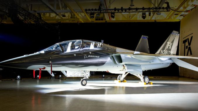 طائرة التدريب T-X