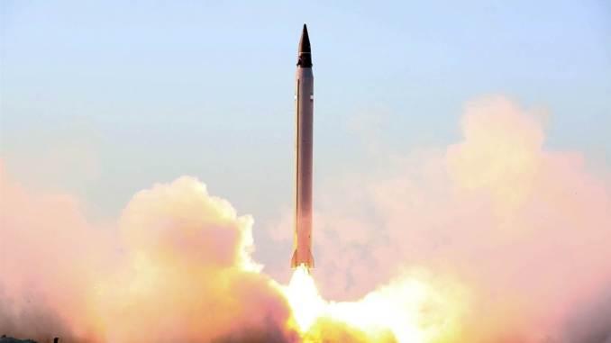 صاروخ باليستي إيراني